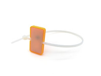 Bild Kabelbinder mit Transponder orange (HF)